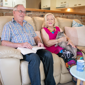 Home mods make life easier for Beth and Paul
