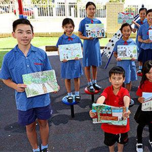 Book illustrates school story