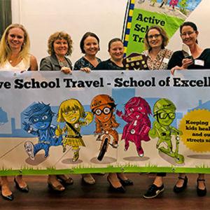 Schools excellent in promoting active travel