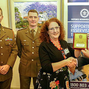 BCE rewarded for Reservists support