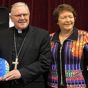 Words of Australia's first saint inspired Spirit of Catholic Award winner
