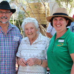 Party time in Gayndah as St Joseph's hits 100
