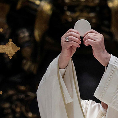 Without the Eucharist, 'we would lack faith to face' daily problems, Archbishop says